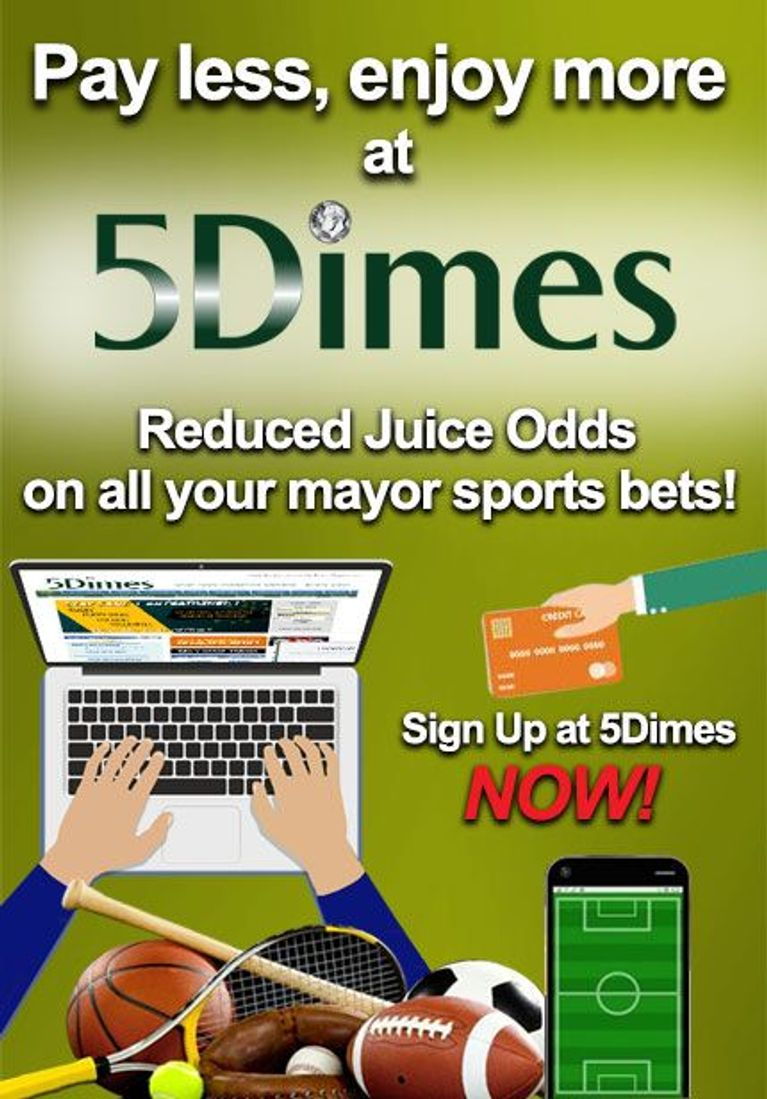 Fund Your Account at 5 Dimes Casino